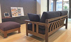 『シモアラ様 加賀市完成内見会』にソファを設置させて頂きます