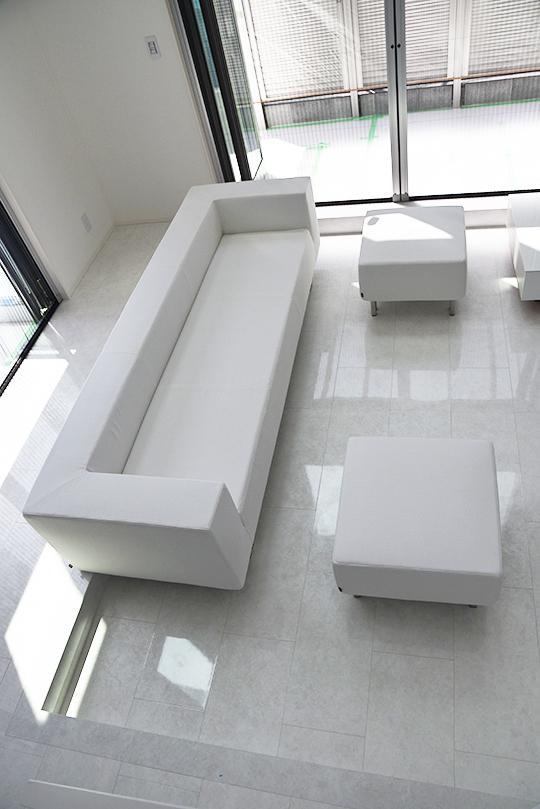 【納品事例】神奈川県座間市 M様 sofa FRM+オットマン
