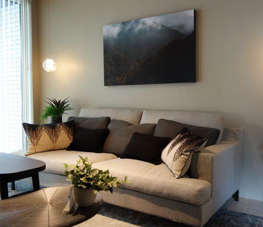 住宅展示場に sofa GRVA を納品させていただきました。