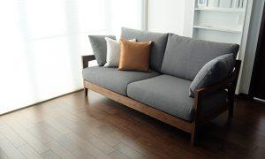 【納品事例】石川県金沢市 住宅メーカー展示場 sofa RF