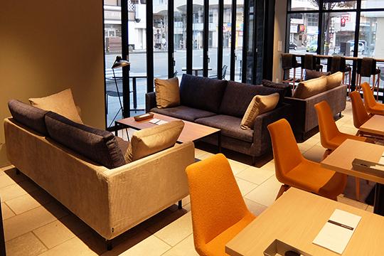 【納品事例】石川県金沢市 ザ・スクエアホテル金沢内カフェ&レストラン sofa HM