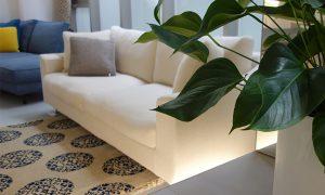 トレスのソファはカバーリング仕様です