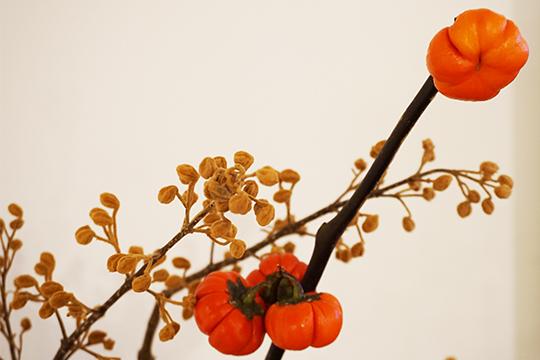 秋のディスプレイ