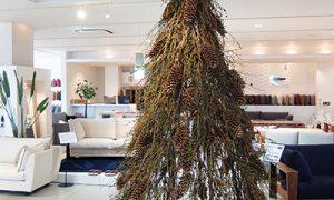ディスプレイがクリスマスツリーになりました