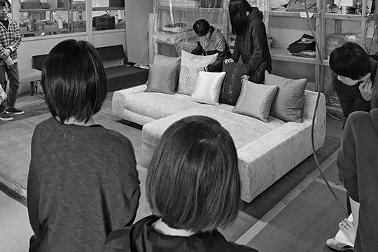 Sofa【TRES-A】製作過程2