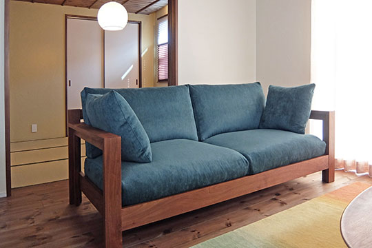 【納品事例】石川県小松市 K様 sofa CONVEX替えカバー