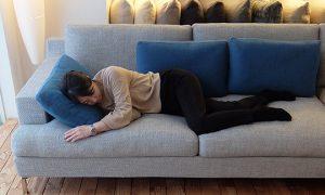『寝心地』も重要なソファ